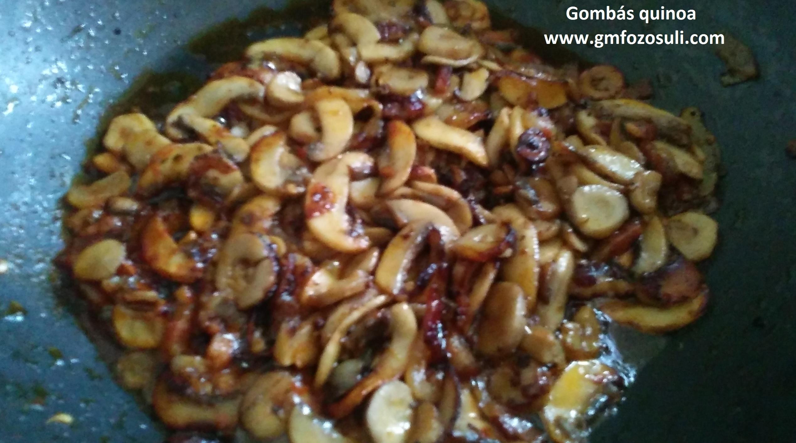 quinoa gomba