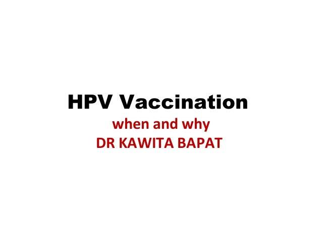 Human papillomavirus ppt