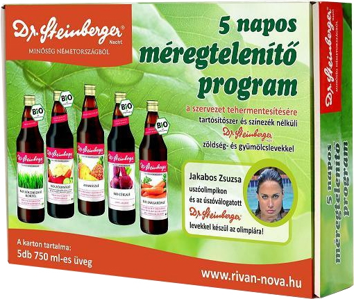 méregtelenítő kúra 3 nap gyümölcslevekkel