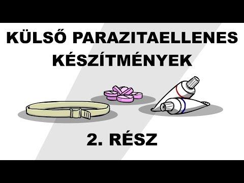 parazitaellenes toxoplazmózis)